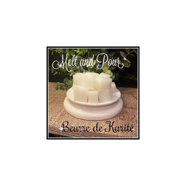 Melt and Pour au beurre de karité 500gr