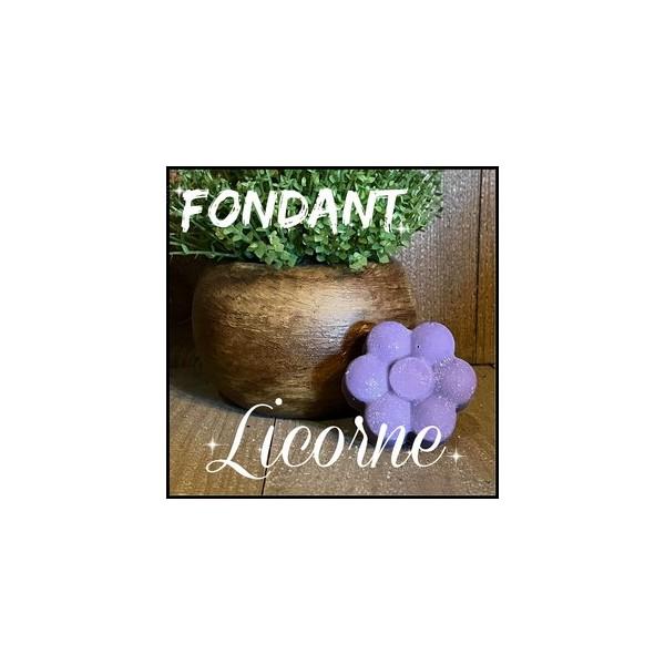 Fondant: Licorne