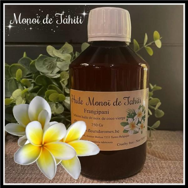 Monoï de Tahiti frangipanier 250gr