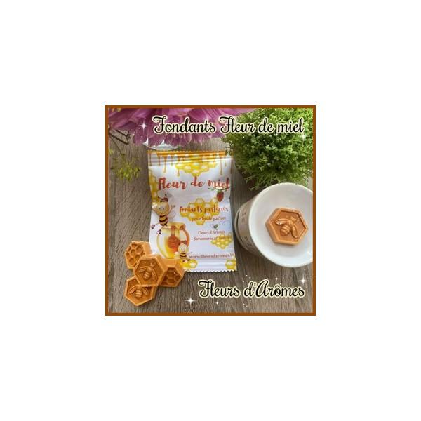 Sachet 8 Fondants: Fleur de miel