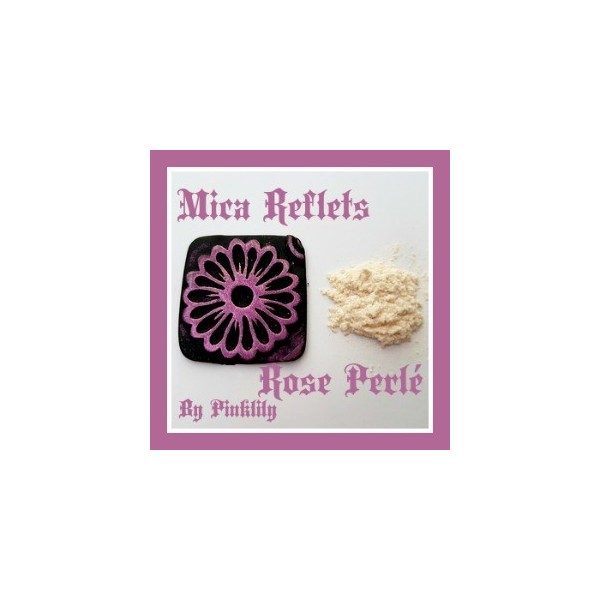 Mica Reflets Rose Perlé
