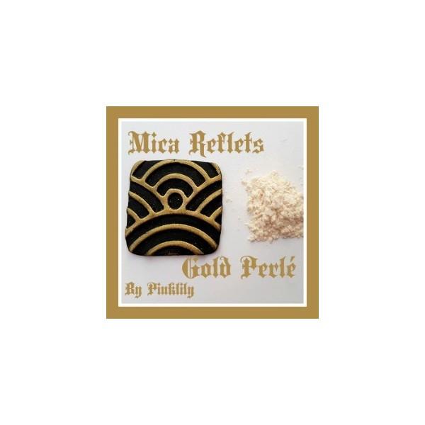 Mica Reflets Gold Perlé