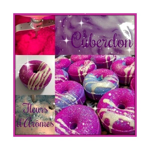 Cuberdon:Donut de bain parfumé