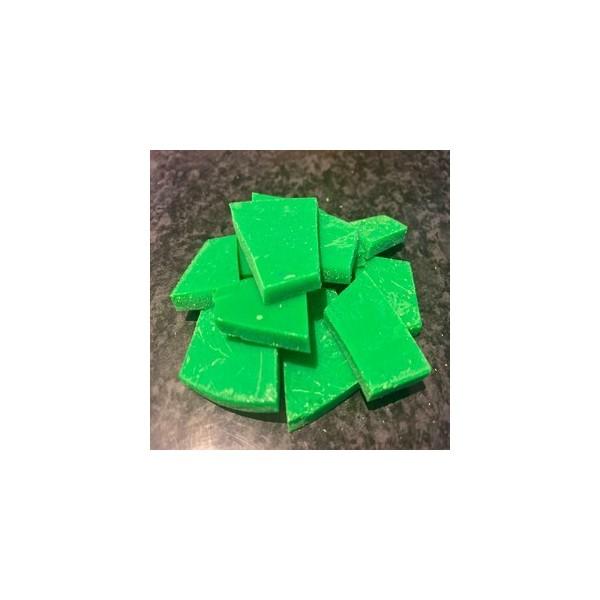 Colorant fluorescent en cire: Vert