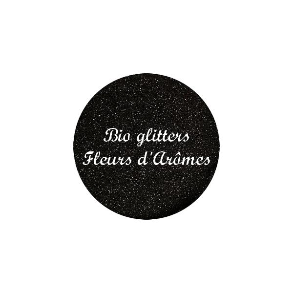 Bio Glitters Noir 008